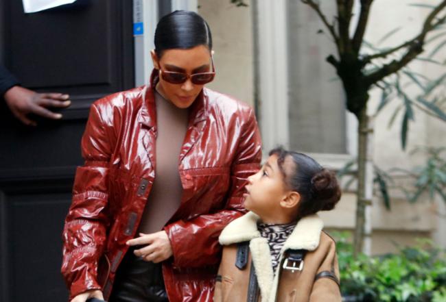 North West Roasts Kim Kardashian