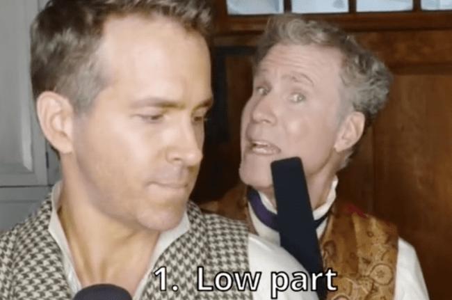 Ryan Reynolds Will Ferrell TikTok Grace Kelly Mika Trend