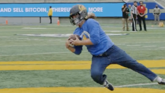 A Cal-Berkeley Student Won $5,000 In Bitcoin By Catching Punts In Electric Fashion