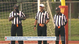 Ohio Referees File Charges After Being Intentionally Trapped In Locker Room By Vending Machine