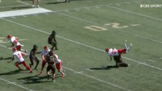 Miami Ohio's Punter Just Got Absolutely DEMOLISHED By The United States Military