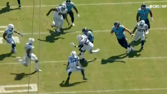 Derrick Henry Is Still A Terrifying Freight Train And Just Took Darius Leonard's Soul