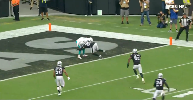 Miami Dolphins Jaylen Waddle Safety Raiders