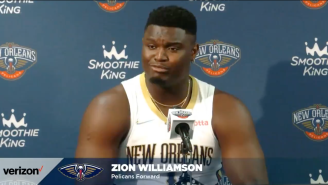 Zion Williamson Wants You To Know That He Would Never Let A Grown Man Play Him The Piano