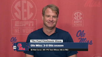 Lane Kiffin Hilariously Fired Shots At Paul Finebaum Over 'Miley Cyrus' Comments From 2013