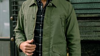 Get This Military-Inspired Waxed Station Jacket For Over 35% Off