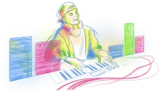 Google Doodle Celebrates The Life Of Avicii On His 32nd Birthday