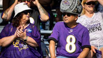 Ravens Fan Gets Tattoo Of Final Score Following Baltimore's Regular Season Win Over The Chiefs