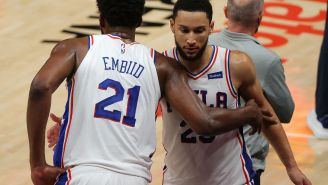 Joel Embiid Stops Short Of Ethering Ben Simmons For His Botched Breakup With The City Of Philadelphia