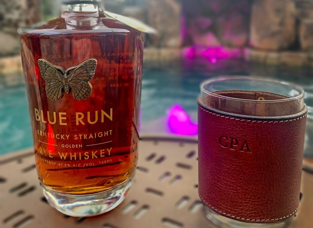 Golden Rye Whiskey Blue Run Spirits