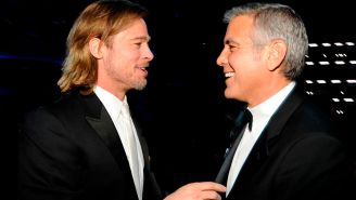 Brad Pitt And George Clooney Are Starring In A Thriller That's Launched An All-Out Bidding War In Hollywood