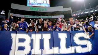 11-Year-Old Bills Fan Beats Cancer, Celebrates By Jumping Through A Table