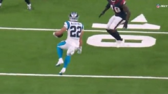 Fantasy Football Owners Freak Out After Panthers RB Christian McCaffrey Leaves Game With Hamstring Injury