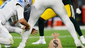 The Nation Mourns Bettor Who Lost $726,959 On Final Leg Of 16-Leg Parlay By Putting Faith In Detroit Lions