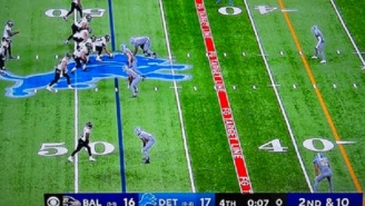 Lions Appear To Get Screwed By Refs For Failing To Call Delay Of Game Penalty On Ravens Before Justin Tucker's Historic Game-Winning Field Goal