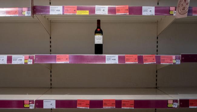 Pennsylvania New Jersey alcohol shortage ration