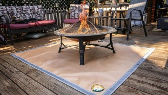 Protect Your Deck With This Fit Pit Ember Mat – Now 33% Off On Amazon