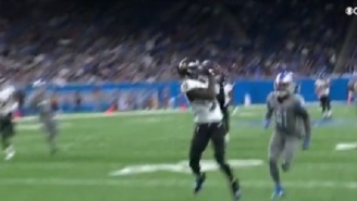 """Ravens WR Marquise """"Hollywood"""" Brown Drops Three Potential TD Passes A From Lamar Jackson And Fans Blasted Him For It"""