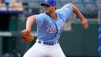 Royals' Jake Brentz Throws The Worst Pitch In The History Of Baseball