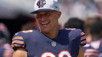 Jimmy Graham Had An Interesting Way Of Using A Rob Gronkowski Jersey For Motivation