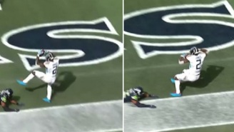Julio Jones Has Amazing TD Catch Overturned Due To Bizarre NFL Heel Rule And Titans Fans Were Irate
