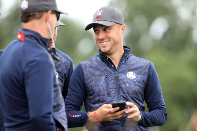 justin thomas golf shoes ryder cup