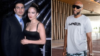 J-Lo's Ex-Husband Replaces Riddick Bowe And Will Fight Lamar Odom On October 2nd