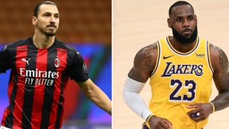 Soccer Superstar Zlatan Ibrahimovic Fires Another Shot At LeBron James For Mixing Sports And Politics