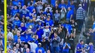 In-Stadium Videos Show How Sick Lions Fans Were When Ravens' Justin Tucker Hit 66-Yard Game-Winning Field Goal