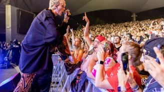VIDEO: Machine Gun Kelly Booed Loudly At Rock Festival Before Getting In Fight With Audience Member