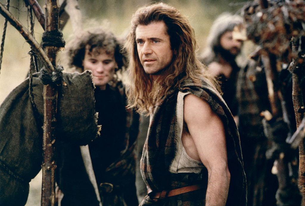 William Wallace played by Mel Gibson