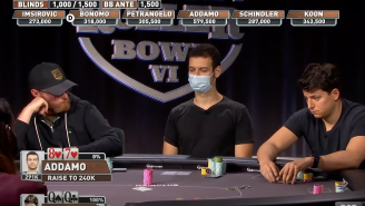 Top Poker Player Masterfully Bluffs All-In Against QQ In $300K Buy-In Tourney