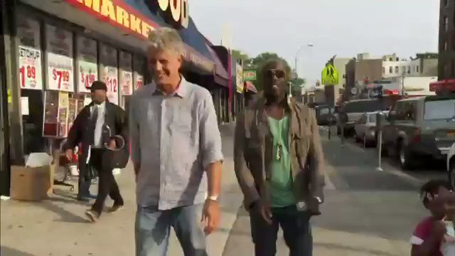 michael k williams anthony bourdain no reservations