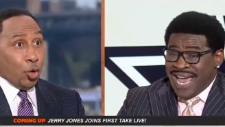Michael Irvin's Debut As Stephen A Smith's Co-Host On ESPN's First Take Already Goes Off The Rail