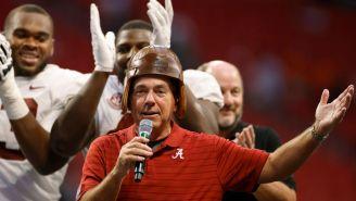 Alabama Football Player Reveals Nick Saban Is A Fan Of 'Deez Nuts' Jokes In Hilarious Video
