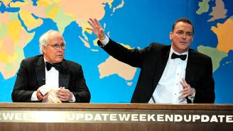 Here's How Steve Martin Convinced 'SNL' Boss Lorne Michaels To Give Norm Macdonald 'Weekend Update'