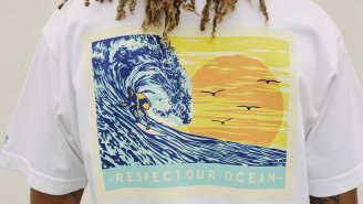 Pacifico Teamed Up With OBEY Clothing For A Collab To Benefit The Surfrider Foundation