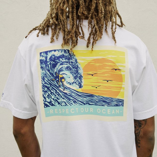 Obey x Pacific Collab For The Surfrider Foundation
