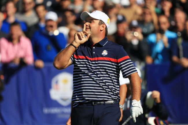 patrick reed ryder cup reaction