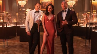 Gal Gadot (Predictably) Steals The Show In First 'Red Notice' Trailer Alongside The Rock And Ryan Reynolds