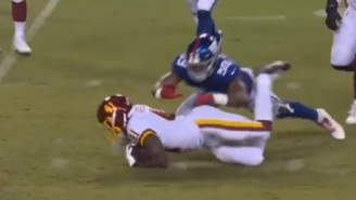 Refs In WFT-Giants Game Make Bizarre Replay Review Call That Even Had Fox Rules Analyst Mike Pereira Confused