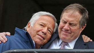 Robert Kraft Once Called Bill Belichick An 'Idiot Savant' And 'The Biggest F*cking A**hole In My Life,' New Book Claims