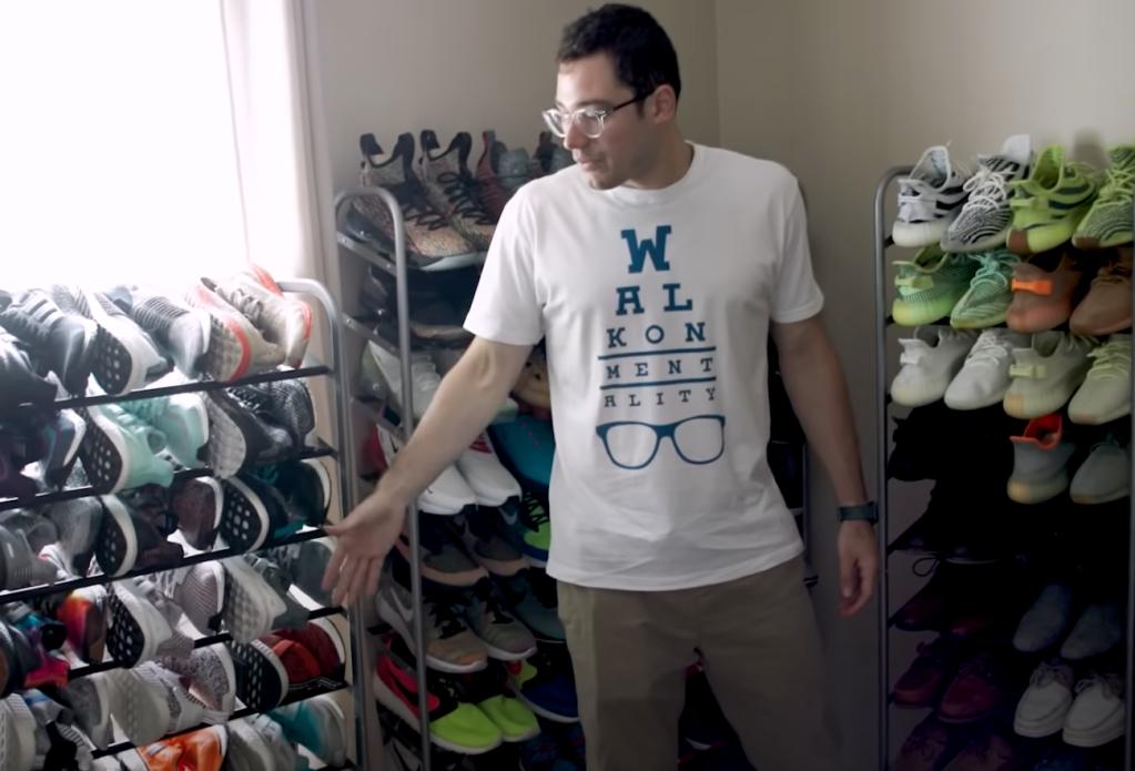 Rodrigo Blankenship sneaker and LEGO collection
