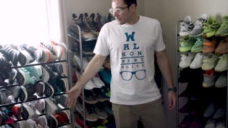 Top NFL Kicker Shows Off One Of The Biggest LEGO And Sneaker Collections We've Ever Seen