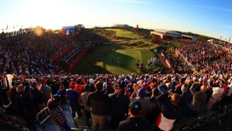 The Scenes From The First Hole At The Ryder Cup Are Magical
