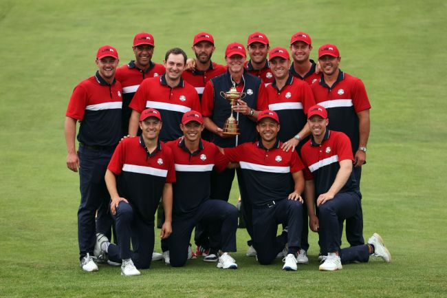absence of tiger woods phil mickelson helped usa win ryder cup