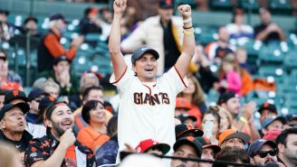 Absolute Legend Celebrates His Divorce On The Jumbotron At San Francisco Giants Game
