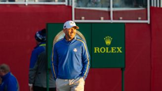 Sergio Garcia Hits The Most Ridiculous Stinger At The Ryder Cup, But Did He Mean To?