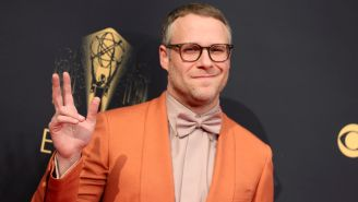 Seth Rogen Accuses The Emmy Awards Of Lying To Attendees About COVID Protocols