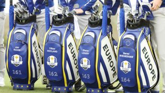 The Numbers On Team Europe's Golf Bags At The Ryder Cup Have A Historical Meaning
